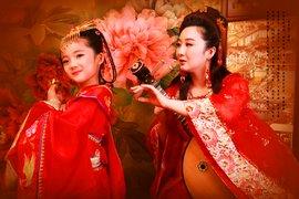 古装 儿童 哈尼/【万达广场】罗莎尔【儿童古装】四服四造/拍摄80张/古装!